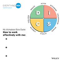 Everything DiSC Workplace Style Guide Image