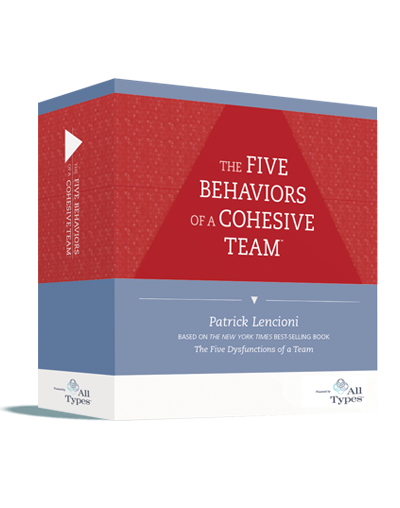 The Five Behaviors of a Cohesive Team All Types Image